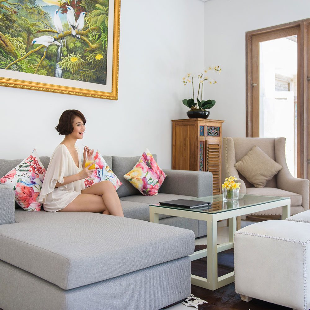 At Taman Sari Villa we provide non-smoking rooms at every villa